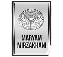 MARYAM MIRZAKHANI - Women In Science Collection Poster