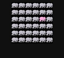 Grey Elephants with One Pink One T-Shirt