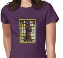 St. Francis of Assisi Womens Fitted T-Shirt