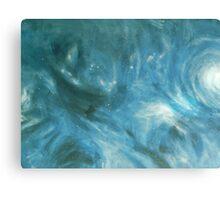 Stars go Blue Canvas Print