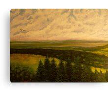 Green valley 2 Canvas Print