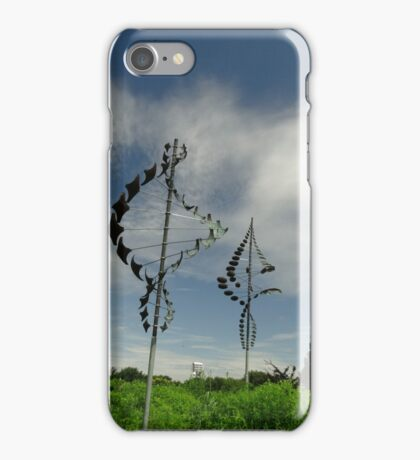 Kinetic wind art iPhone Case/Skin