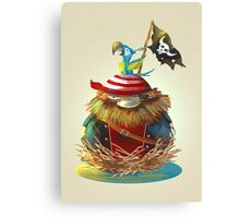Pirate's Nest Canvas Print