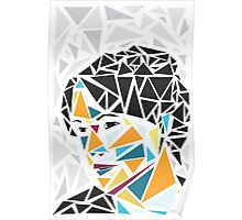 The Geometric Muse Design - Vertical Poster