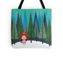 December forest Tote Bag