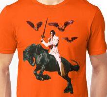 Heavy Metal Elvis Summons the Bats Unisex T-Shirt