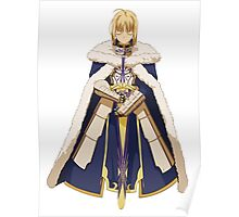 Fate Stay Night - Saber Poster