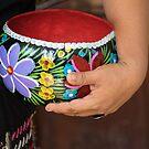 Handicraft Seller in Puerto Chiapas, Mexico by Gerda Grice
