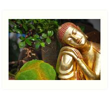 A Touch of Asia Art Print