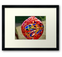 Sparkle Glass Framed Print