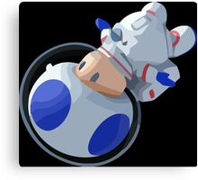 Toad In Space Canvas Print