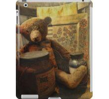 Country Christmas Bear iPad Case/Skin
