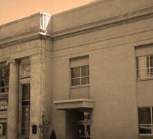 Vintage Bank Building, Niles, Ohio Sticker