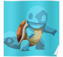Mischievious Squirtle Poster