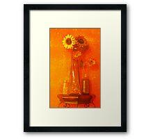 Vase in a Deli Framed Print