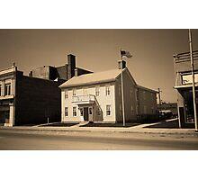 Historic House, Niles, Ohio Photographic Print