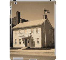 Historic House, Niles, Ohio iPad Case/Skin