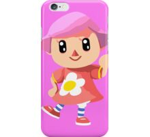 Friendly Female Villager iPhone Case/Skin