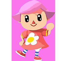 Friendly Female Villager Photographic Print