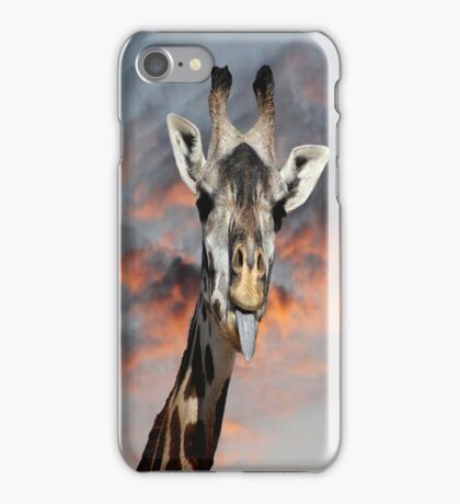 Goofy Giraffe iPhone Case/Skin