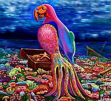 ''Parrot of the south seas'' by Jerel Baker
