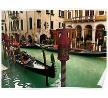 VENICE CHARMS Poster
