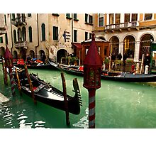 VENICE CHARMS Photographic Print
