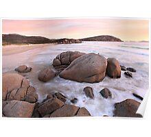 Whiskey Bay Beach, Wilsons Promontory, Victoria, Australia Poster