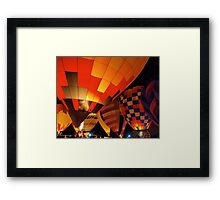 The Glow Framed Print
