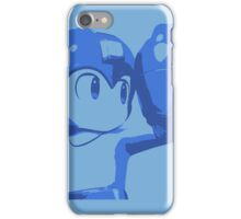 The Blue (and cyan) Bomber iPhone Case/Skin