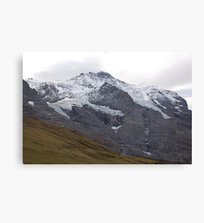 Suisse Mountains Canvas Print
