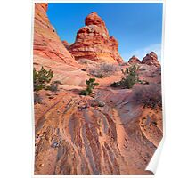 Rocky Teepees Poster