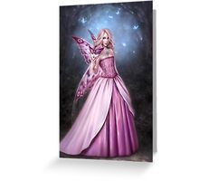 Titania Butterfly Fairy Queen Greeting Card