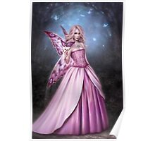 Titania Butterfly Fairy Queen Poster