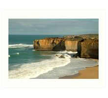 Coast Line,Great Ocean Road Art Print