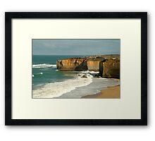 Coast Line,Great Ocean Road Framed Print
