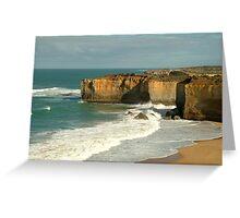 Coast Line,Great Ocean Road Greeting Card