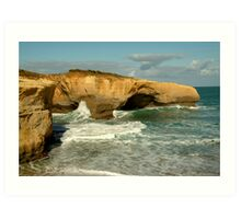 London Bridge,Great Ocean Road Art Print