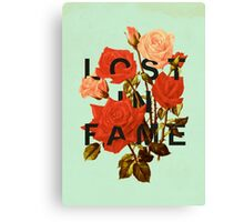 Lost In Fame Canvas Print