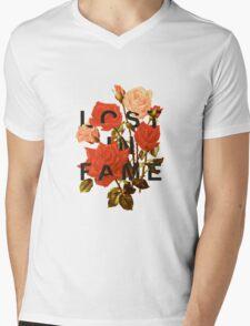 Lost In Fame Mens V-Neck T-Shirt