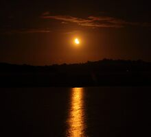 A Moon As Gold As The Sun by Salien