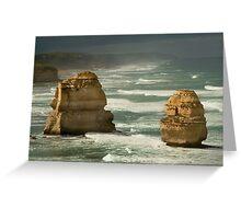 Dark Skies,Twelve Apostles,Great Ocean Road Greeting Card
