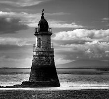 Plover Scar Lighthouse by Chris Cudlip