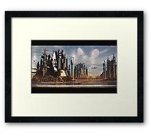 season city V2 Framed Print