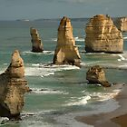 The Twelve Apostles,Great Ocean Road by Joe Mortelliti