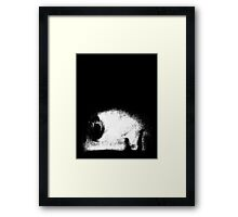 sages watching the sky Framed Print