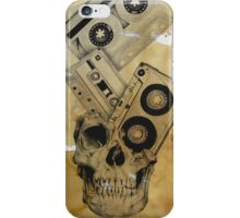 Skull Mix Cassette Tapes iPhone Case/Skin