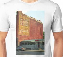 Diner and Ghost Mural Unisex T-Shirt