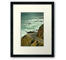 Bend,Great Ocean Road Framed Print