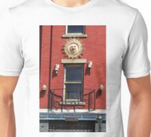 Gargoyles and Balcony, Auburn, New York Unisex T-Shirt